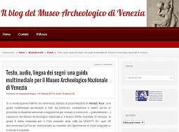 Text, audio, sign language video: a multimedia guide to the National Archaeological Museum