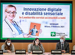 Video-interpretariato per sordi in Regione Lombardia