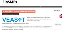 VEASYT raises €170k in angel funding